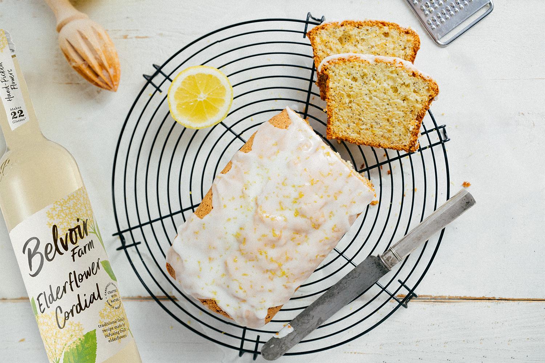 Elderflower & Lemon Drizzle Cake