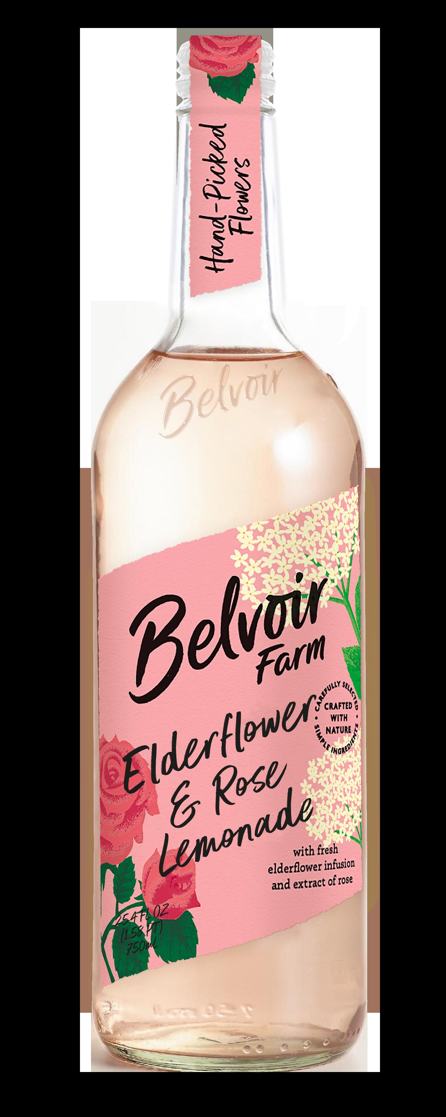Elderflower & Rose Lemonade